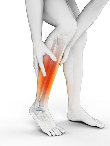 muscle cheville douleur